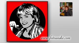 retrato-original,regalos-originales, retrato-comic,ideas-para-decorar,interiorismo,