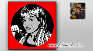 retrato-original,regalos-originales, retrato-comic,ideas-para-decorar,interiorismo,