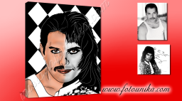 FREDDY-MERCURY,FREDDIE-MERCURY, QUEEN,POSTER-REGALO,REGALO-ORIGINAL,DECORACIÓN-POP,DECORACIÓN-MUSICAL,IDEAS-PARA-DECORAR