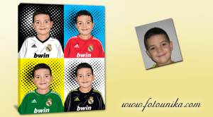 Real-Madrid,Merengues,cuadro personalizado,retrato pop-art,futbol,regalo original,equipación-futbol