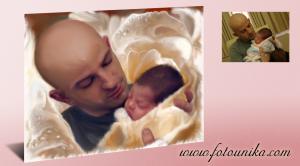 Momento maravillos,regalo dulce, retrato con tu hijo,oleo para decorar