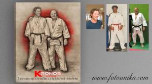 regalo dibujo estilo carboncillo homenaje taekwondo
