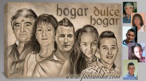 CUADRO FAMILIAR, REGALO ORIGINAL, REGALO UNICO, REGALOS ORIGINALES, REGALOS UNICOS, REGALO PARA BODA, REGALO BODAS,DECORAR,FAMILIA