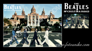 fotomontaje, montaje, sorpresa, regalo, cuadro, lamina, ideas para decorar, BEATLES, abbey road, version, album, homenaje, original, portada, disco, cd, longplay, clasico
