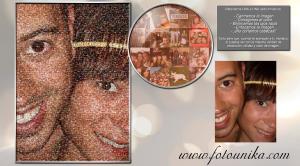 multifotos, mosaico, regalo, el regalo, cuadro, lamina, cuadro personalizado, homenaje, pareja, boda, novios, obsequio, recuerdo, economico, decorativo, original, unico