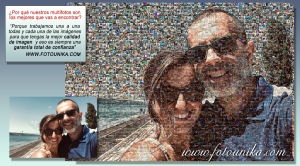 regalo multifotos o mosaico pareja