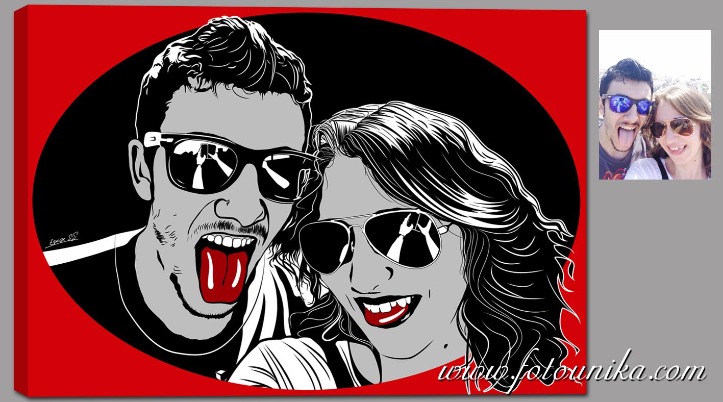 Arte pop fotounika com - Cuadros pop art comic ...