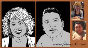 pop art, arte pop, comic, dibujo vectorial, vector, blanco y negro, original, unico, diferente, cuadro, cuadro personalizado, lamina, pareja, mujer, hombre, homenaje