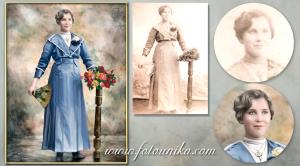 restauracion, coloreado y oleo familiar
