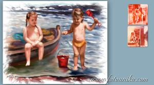 regalo emotivo,regalo original,pintura,retrato,regalos originales,pintura clasica,soroya,