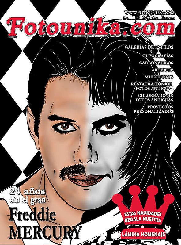 fotomontaje, montaje, sorpresa, regalo, cuadro, cuadros, ideas, ideas para decorar, Queen, Freddie Mercury, dibujo, vector, homenaje, original, portada, disco, cd, longplay, clasico, regalo navidad, regalo reyes, diseño, exclusivo, diseño exclusivo