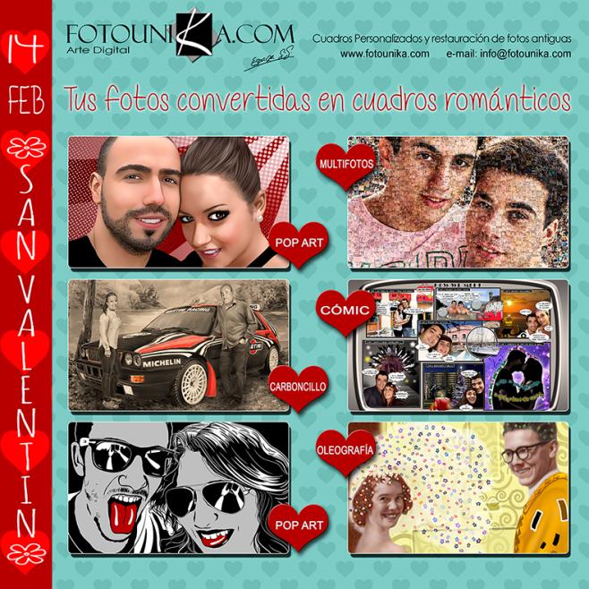 ideas para regalar en san valentin fotounika 2016
