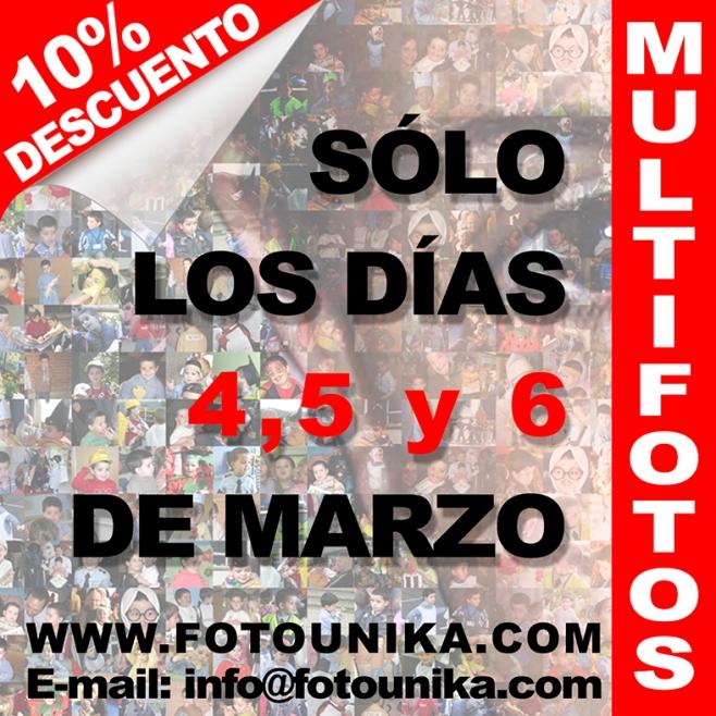 multifotos, mosaico, collage, fotocomposicion, descuento, promocion, oferta limitada, cuadro personalizado