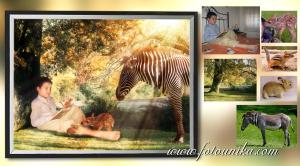 fotomontaje, fotocomposicion, lamina, cuadro, cuadro personalizado, regalo, el regalo, regalo original, homenaje