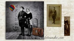 restauracion, fotomontaje, fotomanipulacion, arte digital, regalo, el regalo, original, unico, dia de la madre, dia del padre, foto antigua, restauracion foto antigua, restauraciones de fotos antiguas, homenaje,, recuerdos