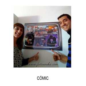 comic, comic personalizado, viñeta, viñetas, cuadro, cuadro personalizado, lamina, regalo, el regalo, homenaje, sorpresa, original, unico, diiferente, divertido