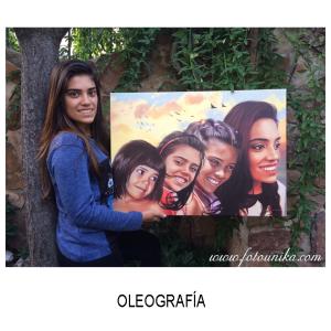 oleo, oleografia, cuadro, cuadro personalizado, lamina, arte digital, regalo, el regalo, original, homenaje, mujer, joven, evolucion, de niña a mujer