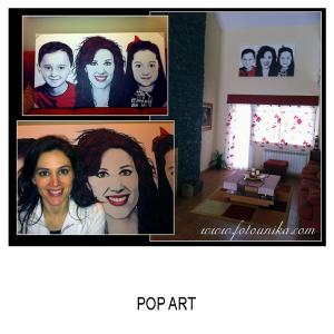 pop art, arte pop, dibujo vectorial, vector, comic,, arte digital, cuadro, cuadro personalizado, lamina, regalo, el regalo, original, unico, diferente, sorpresa, familia