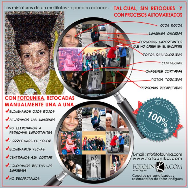 multifotos, mosaico, collage, cuadro, cuadro personalizado, lamina, recuerdo, homenaje, regalo, el regalo, graduacion, profesor, alumno, aniversario, especial, unico, original, calidad, personalizado