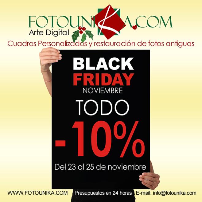 BLACK FRIDAY FOTOUNIKA REGALOS