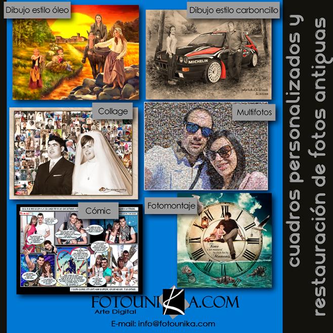 REGALOS Y DETALLES ORIGINALES Y UNICOS PARA NAVIDAD Y FIESTAS CON TUS FOTOS
